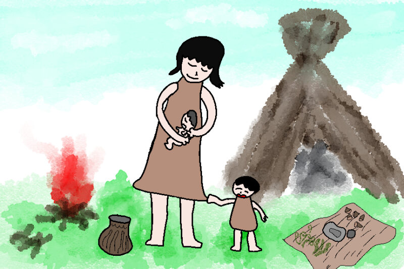 縄文の子育て